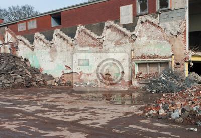 alten Fabrikruine