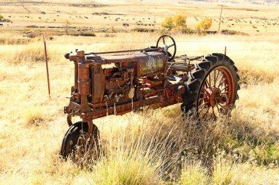Poster Alter Traktor