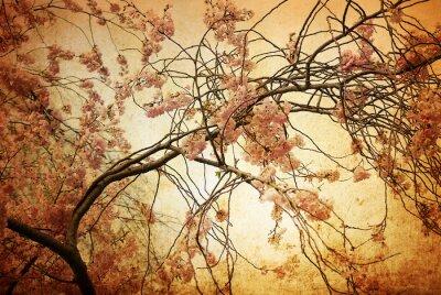 altmodische künstlerische Blüte