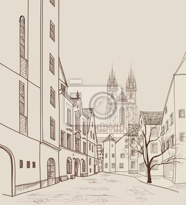 Altstadt von Prag, Tschechische Republik.