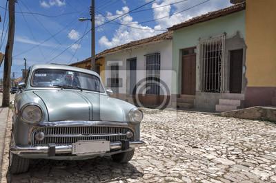 Amerikanisches klassisches Auto in Trinidad, Kuba