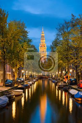 Amsterdam bei Nacht, Niederlande