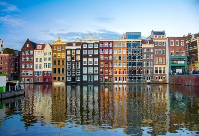 Poster Amsterdam, Niederlande
