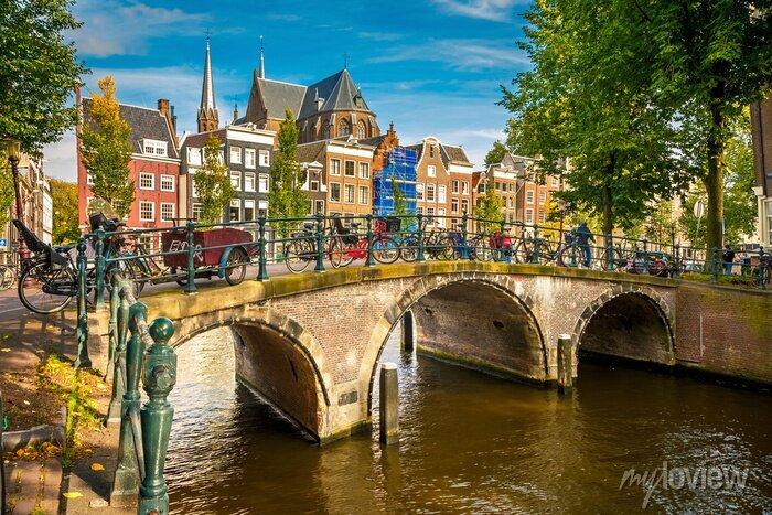 Poster Amsterdam Stadtbild