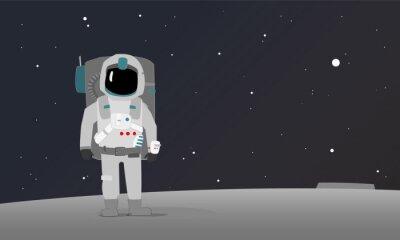 Poster an astronaut