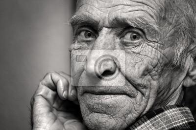 Poster Anblick des alten Mannes