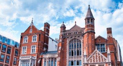 Ancient building of London, UK