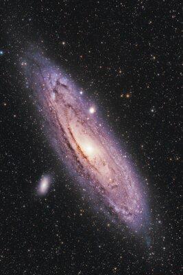 Poster Andromeda-Galaxie