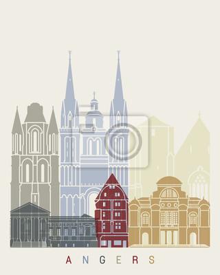 Angers-Skylineplakat