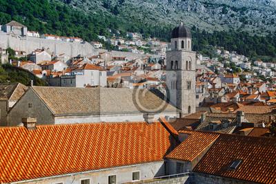 Ansicht der alten Stadt Dubrovnik