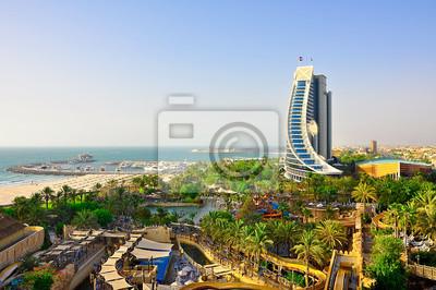 Ansicht von Jumeirah Beach. Dubai.