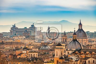 Ansicht von Rom von Castel Sant'Angelo