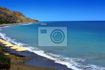 Aphrodite Felsen und Strand in Zypern