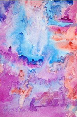 Poster Aquarell handgemalt Hintergrund Kunst für Scrapbooking