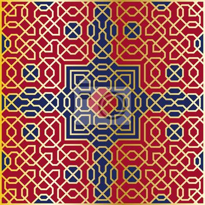 Arabesque nahtlose Muster