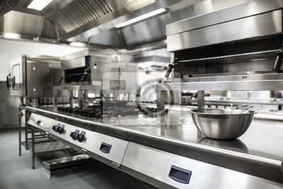 Poster Arbeitsplatte und Küchengeräte