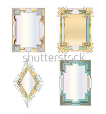 Poster Art Deco Frames