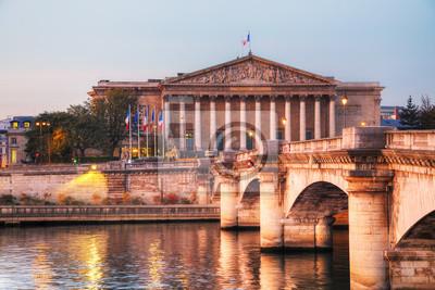 Assemblee Nationale (Nationalversammlung) in Paris, Frankreich