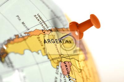 Auf der Karte Red Pin.
