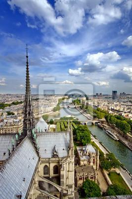 Auf der von Notre Dame Paris, Frankreich