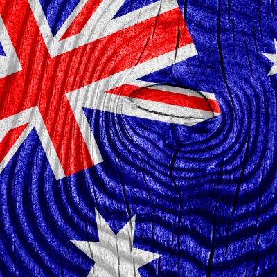 Poster Australien-Flagge