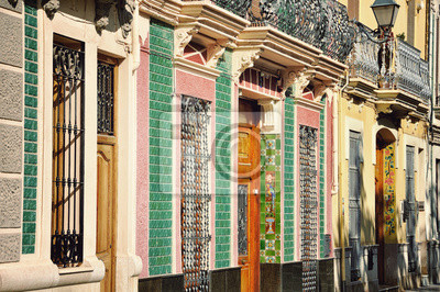 'Azulejos' - Haus Dekoration, Spanisch bemalt Fliesen