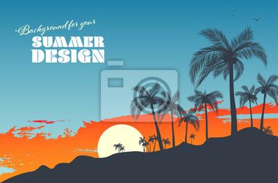 Poster Background for your summer design
