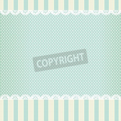 Poster background in style shabby chic