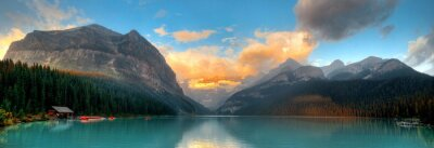 Poster Banff Nationalpark-Panorama