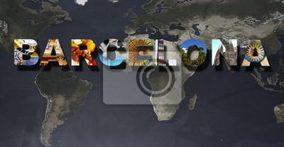 Barcelona Bilder Collage