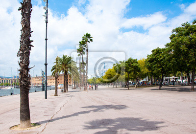 Barcelonas Strandpromenade.