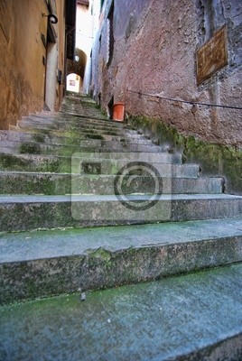 Barga, in der Provinz Lucca, Italien