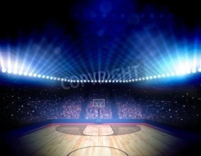 Poster Basketball-Arena