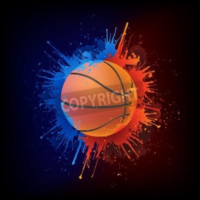 Poster Basketball Ball
