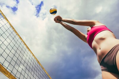 Poster Beach-Volleyball