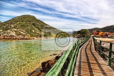 Beautiful beach south of Brazil, Florianópolis