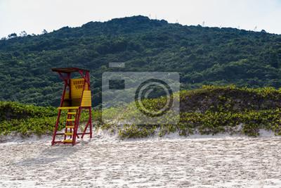 Beautiful beach south of Brazil, Praia Mole, Florianópolis