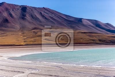 Beautiful lake in Bolivia, South America