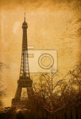 beautiful Parisian streets - with space for text or image.