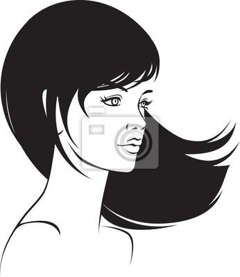 Poster beauty  face girl portrait