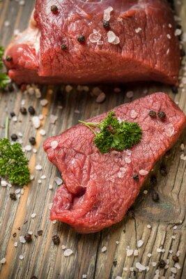 Poster Beef Slice