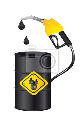 Poster Benzin