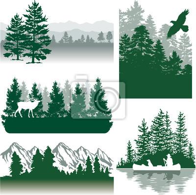 Berge Landschaften