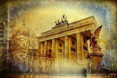 Poster Berlin art design illustration