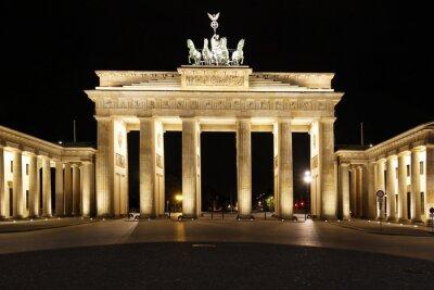 Poster Berlin - Brandenburger Tor