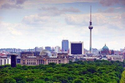 Poster berlin cityscape