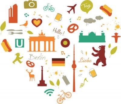 Poster Berlin Heart
