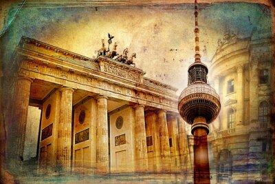 Poster Berlin Kunst, Design, Illustration