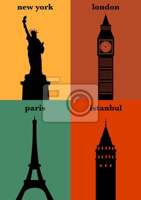 Berühmte Städte