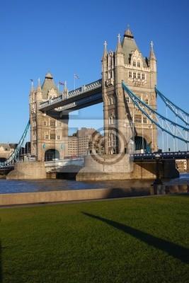 Berühmte Tower Bridge, London, UK